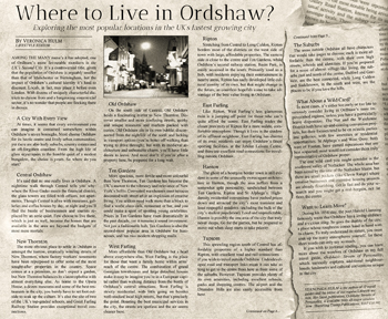Where would you live in Ordshaw?
