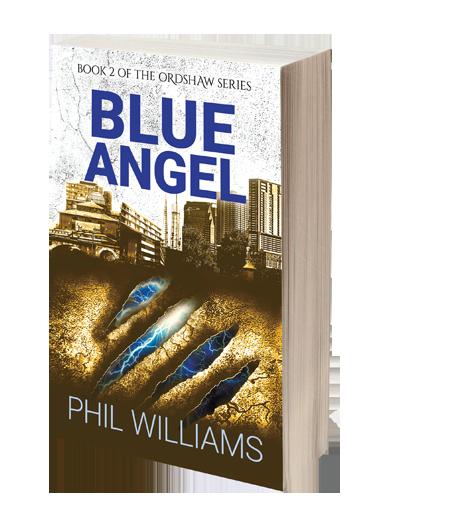 blue angel contemporary fantasy novel