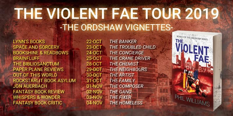 The Violent Fae Blog Tour 2019: The Ordshaw Vignettes