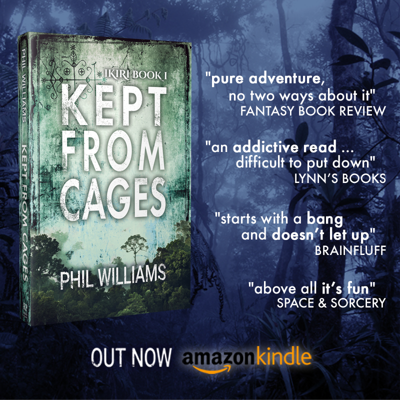 kept from cages book promo pic