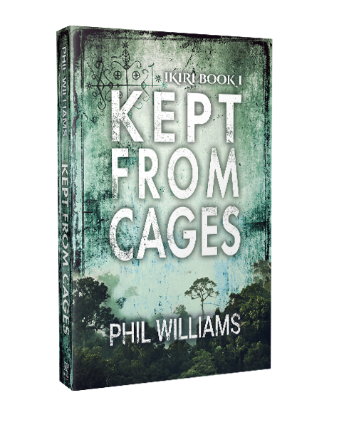 kept from cages supernatural thriller